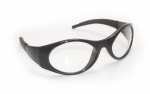SAS - 5180-50 - Stingers Eyewear with Clamshell, Clear Lens/Black Frame