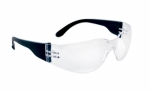 SAS - 5340-50 - NSX Eyewear with Clamshell, Clear Lens/Black Temple