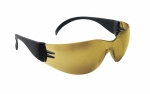 SAS - 5344 - NSX Eyewear - Gold Mirror Lens, Black Temple w Polybag