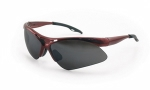 SAS - 540-0001 - DIAMONDBACK Eyewear - Shade Lens, Red Frame w Polybag