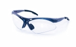 SAS - 540-0300 - DIAMONDBACK Eyewear Clear Lens, Blue Frame w Polybag