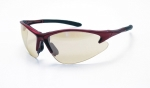 SAS - 540-0402 - DB2 Eyewear with Polybag, Indoor or Outdoor Lens/Red Frame