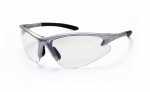SAS - 540-0500 - DB2 Eyewear with Polybag, Clear Lens/Silver Frame