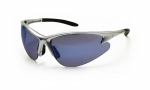 SAS - 540-0519 - DB2 Eyewear with Clamshell, Ice Blue Lens/Silver Frame