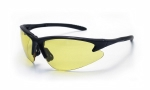SAS - 540-0605 - DB2 Eyewear with Polybag, Yellow Lens/Black Frame