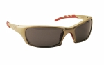 SAS - 542-0101 - GTR Eyewear with Polybag, Shade Lens/Gold Frame