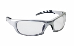 SAS - 542-0200 - GTR Eyewear with Polybag, Clear Lens/Silver Frame