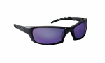 SAS - 542-0319 - GTR Eyewear with Clamshell, Purple Mirror Lens/Charcoal Frame