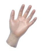 SAS - 6508-20 - Powder Free Vinyl Gloves - Large