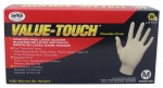 SAS - 6593-20 - Value-Touch Powder Free Disposable Latex 5 Mil Gloves, Large, 100 Gloves by Weight