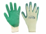 SAS - 6639 - Cotton/Poly Latex Coated Palm Glove - X Large