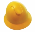 SAS - 7160-11 - Full Brim Hard Hat with Ratchet, Yellow