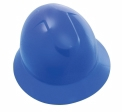 SAS - 7160-12 - Full Brim Hard Hat with Ratchet, Blue