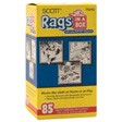 Scott - 75240 - Rags in a Box, White, 1 box