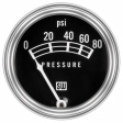 Stewart Warner -82208 - Oil Pressure Gauge
