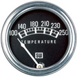 Stewart Warner - 82210-72 - Standard Mechanical 100-250F Water Temperature Gauge, 2-1/23