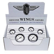 Stewart Warner - 82224 - Wings Analog Gauge Boxed Kit