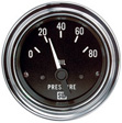 Stewart Warner - 82304 - Deluxe Series Electric Oil Pressure Gauge, 2-1/16