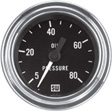 Stewart Warner - 82322 - Deluxe Mechanical Oil Pressure Gauge, 2-1/16
