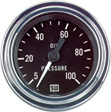 Stewart Warner - 82323 - Deluxe Mechanical Oil Pressure Gauge, 2-1/16