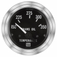 Stewart Warner - 82344 - Deluxe Electric Trans Oil Temperature Gauge, 2-1/16