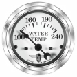Stewart Warner -82477 - Water Temperature Gauge, 100-240 Degrees F