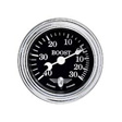 Stewart Warner - 82491 - Boost Vacuum Gauge - Mechanical