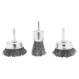 Wilmar Performance Tool - 1462 - 3 pc Rotary Wire Brush Set
