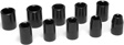 Wilmar Performance Tool - M593DB - 10-Piece 1/2-Inch Drive Metric Impact Socket Set