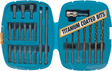 Wilmar Performance Tool - W1343 - 25 Piece Rapid Change Drill Bit Set