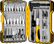 Wilmar Performance Tool - W1709 - 36-Piece Hobby Knife Set