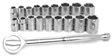 Wilmar Performance Tool - W38301 - 19 Piece 3/8
