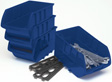 Wilmar Performance Tool - W5196 - 4pc Large Stackable Trays