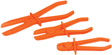 Wilmar Performance Tool - W83205 - 3pc Line Clamp Set