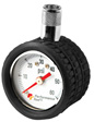 Wilmar Performance Tool - W9105 - Mini Dial Tire Pressure Gauge