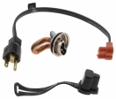 ZeroStart - 310-0108 - Engine Heater, 400W, 120V, 35mm, Ford, Honda, Mazda, (Brass Adapter)
