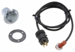 ZeroStart - 860-2948 - Power Cord, Weatherproof, 120V 15A, 10' (3m) with zinc plated, round 3 hole flange receptacle